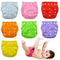 Reusable Baby Nappies adjustbale baby diaper waterproof baby cloth diaper cover baby wizard kids nappy changing babyland care