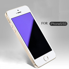 2.5D Anti Blue Light Tempered Glass For Iphone 5S Screen Protector