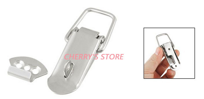 Chests Cases Hardware Tool Spring Loaded Toggle Latch Catch Hasp 2sets(China (Mainland))