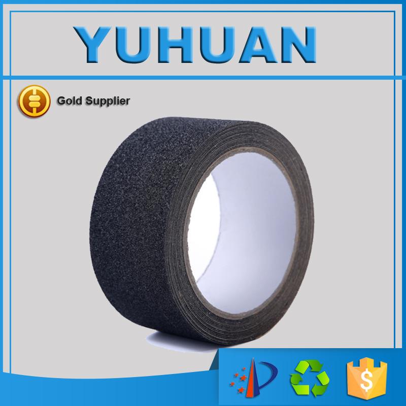 Free Shipping Anti Slip Grip Stickers Non Slip Strips Flooring Safety Anti Skid Tape Black 25MMx1M(China (Mainland))