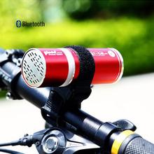 Mountain bike riding outdoor wireless Bluetooth stereo subwoofer portable mini card small speaker radio(China (Mainland))