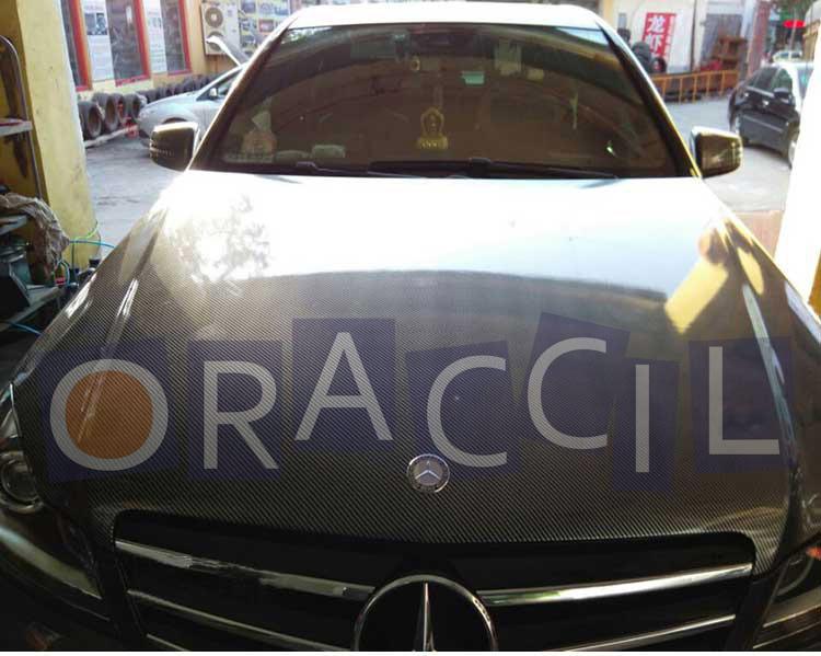 Car Styling 1.52x20m/Roll 2D vinyl film without air bubble carbon fiber car sticker<br>