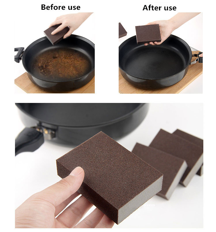 Best Price Sponge Kitchen Nano Emery Magic Clean Rub The Pot Except Rust Focal Stains Sponge In