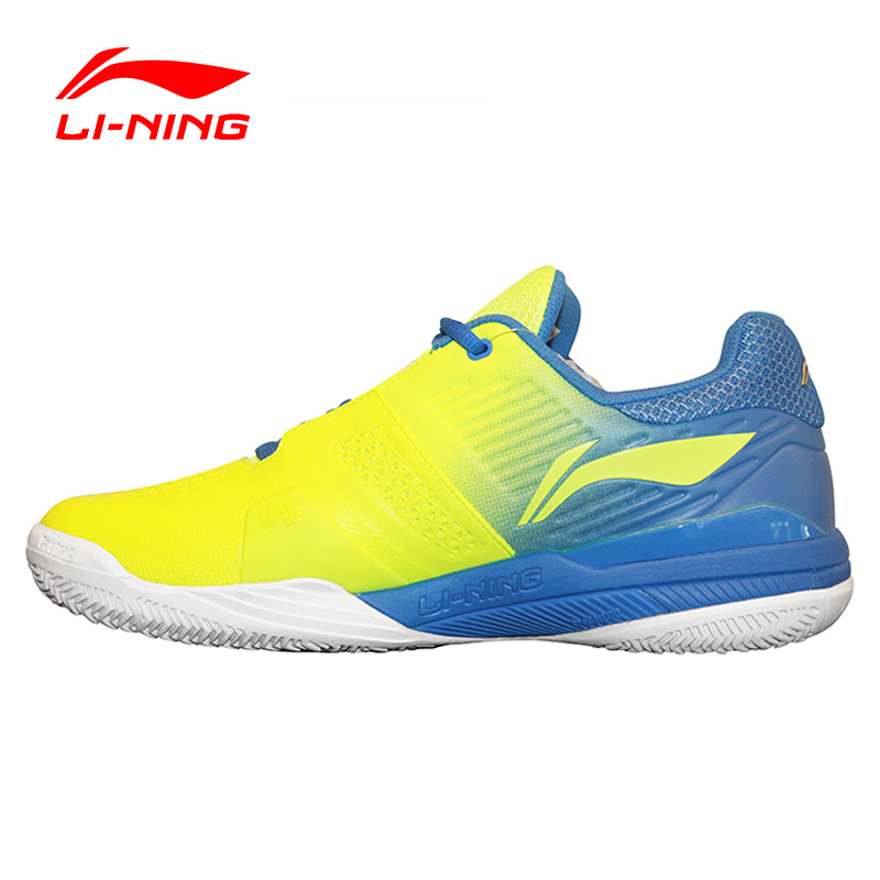 LI-NING Men's Tennis Shoes Professional Cushioning Breathable Support Stability Sneakers Sports Shoes LINING ATAK003 XYW010(China (Mainland))