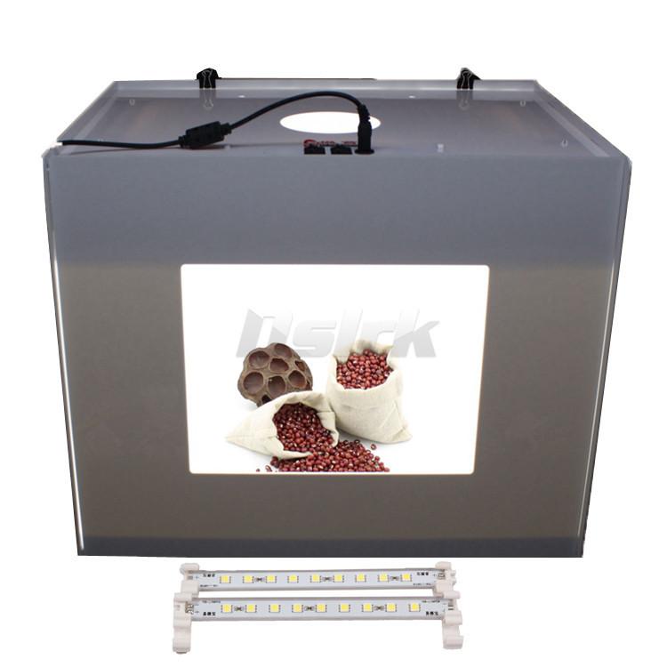 DHL Free Shipping  3PCS LED LIGHT Portable Mini Photo Studio Photography Light Softbox Box Photo Box D40 MK40 110V-240V<br>