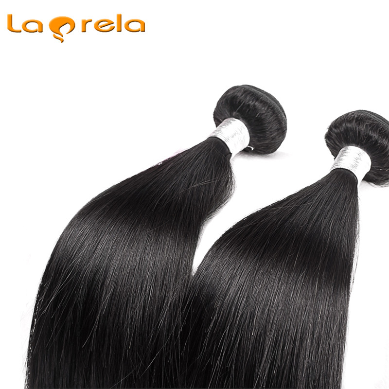 Larela Hair Products Brazilian Straight Hair 2 Bundles Brazilian Hair Weave Bundles Brazilian Hair Bundles Can be Dyed