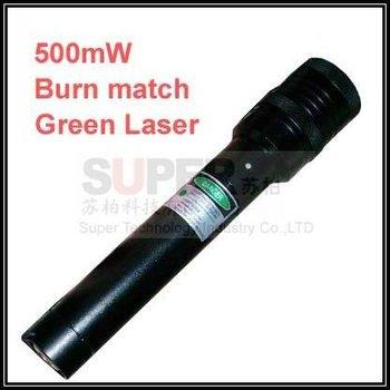 Can Light Cigaratte & burn match 500mW Beam Laser pointer pen,green big power Beam Laser Pen,free shipping