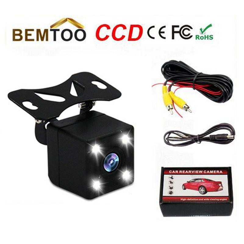 Hot Sell HD CCD LED Car Rear View Camera Parking /color Night for Vision Waterproof Universal Parking camera(China (Mainland))