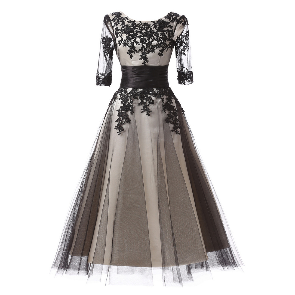 New arrival mother of the bride dress women formal evening for Silver tea length wedding dresses