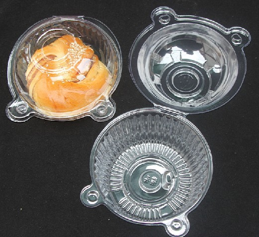 100 Clear Plastic Single Cupcake Cake Case Muffin Pod Dome Holder Box Container(China (Mainland))