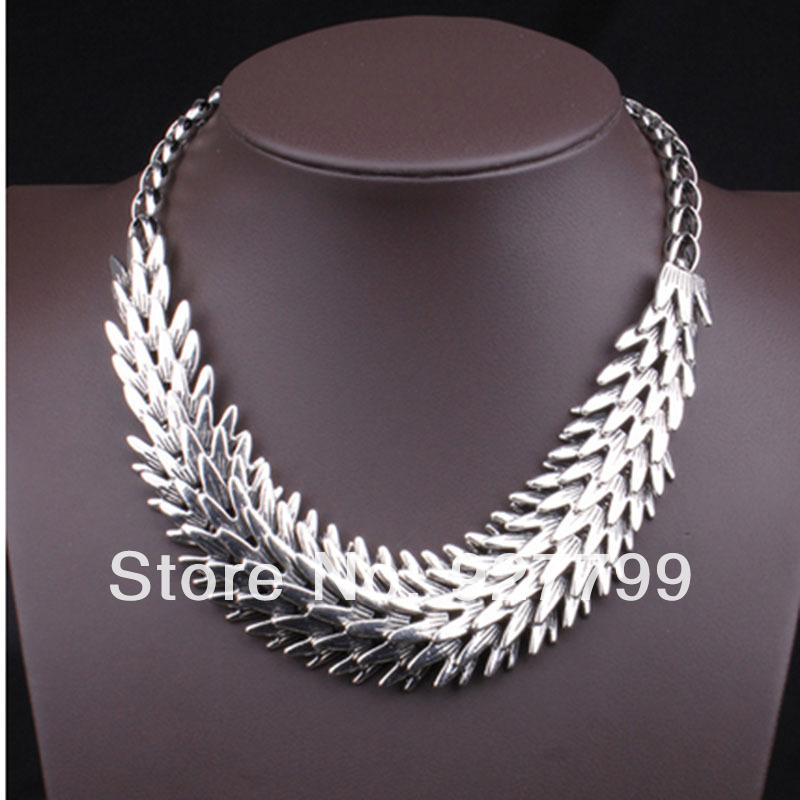 High fashion Europe style spring women necklace alloy gold choker FREE SHIPING - YY Dot Boutique Fashion Shop store