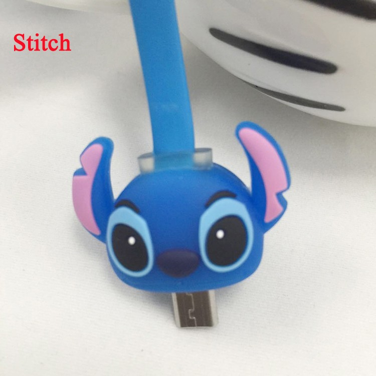 Cute Lovely Cartoon 8 Pin Cable Protector de cabo USB Cable Winder Cover Case For IPhone 5 5s 6 6s 6splus cable Protect stitch>