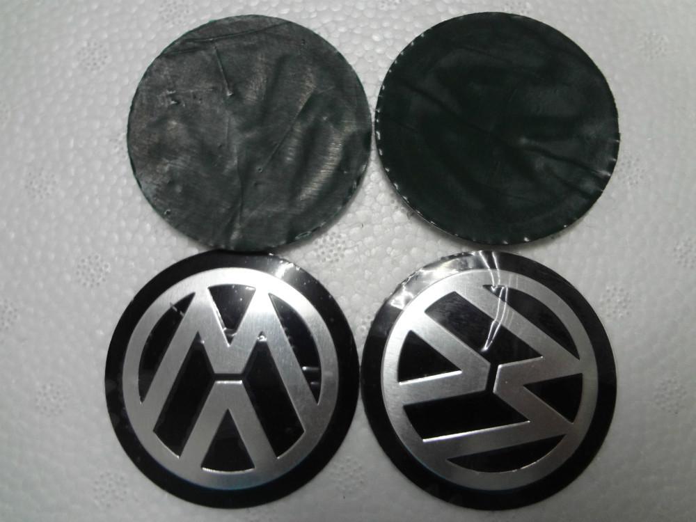 New Free Shipping 4Pcs Car VW Stickers Wheel Center Fits Volkswagen Hub Cap Stickers 56.5mm BLACK VW wheel center emblems<br><br>Aliexpress