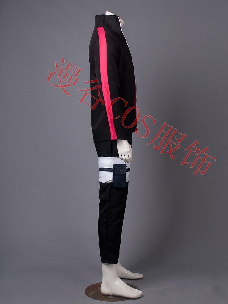 NARUTO Boruto Uzumaki Cosplay Costume Halloween Uniform Coat+T-shirt+Pants+Bags+Shoes+Headband+Weapons  HTB19.YXJVXXXXXVXFXXq6xXFXXXs