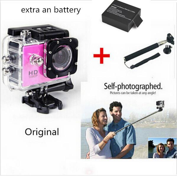 GoPro hero 3 style original SJ4000 go pro camera 30M Waterproof 1080P Full HD Sport action