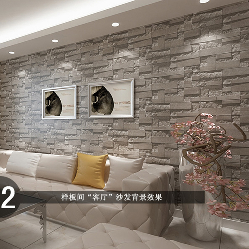 room backdrop decoration simulation brick sticker waterproof wall