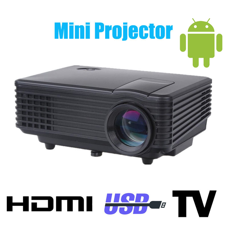 2016 original 3d led mini projector 1080p full hd home theater projetor video lcd proyector portable pico mircro pocket beamer(China (Mainland))