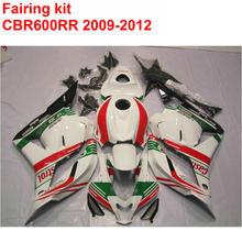Buy Injection molding full Fairing kit HONDA cbr600rr 2009 2010 2011 2012 CBR 600 RR red green white fairings set 09 10-12 LK63 for $339.48 in AliExpress store