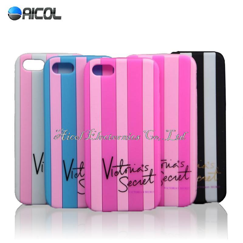 Luxury Secret Stripe Soft Case For iphone 5S SE 5C 6 6S 7 ...
