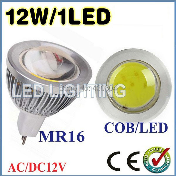 NEW 1pcs/lot 3W 9W 12W 15W MR16 GU10 E27 COB LED Spot Light Spotlight Bulb Lamp High power lamp AC12V 3 years Good Quality(China (Mainland))