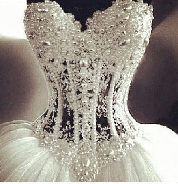 Luxurious Bling Strapless Ball Wedding Dresses Corset Bodice Sheer Bridal Crystal Pearl Rhinestones Tulle Wedding Gowns Wedding Gowns Tulle Wedding Gownscorset Bodice Aliexpress,Purple Dress Shoes For Weddings