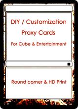 Hd принт по требованиям заказчика прокси карты 8.8 x 6,3 см мэтт ламинирование своими руками карта для Cube и развлечения торговая карта игра