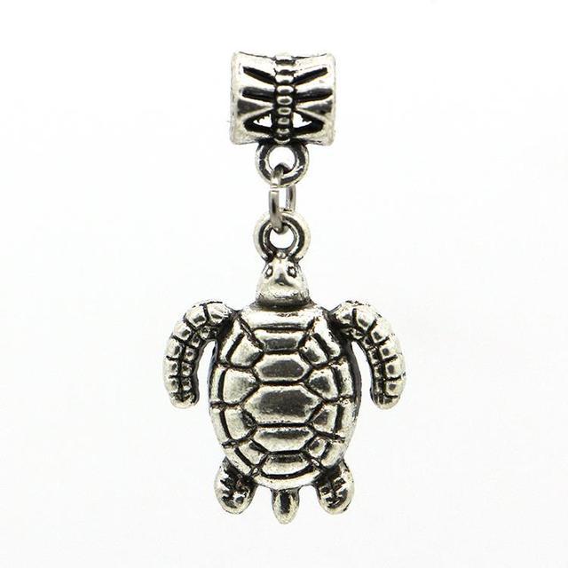 1 шт. бесплатная доставка мода европейский серебряный морских черепах подвески подвеска ...