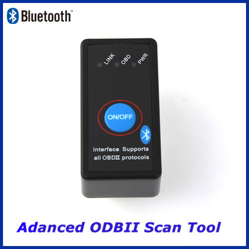 OBD2 bluetooth ELM327 M1 V1.5 car driving computer fault diagnosis detector with switch ELM 327 Diagnostic Tool Free shipping(China (Mainland))