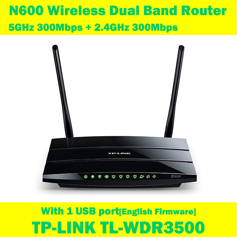 Здесь можно купить  TP-LINK TL-WDR3500 600Mbps Dual Band Wireless Router WIFI Extender 2 detachable antenna 1 USB Interface TP-LINK TL-WDR3500 600Mbps Dual Band Wireless Router WIFI Extender 2 detachable antenna 1 USB Interface Компьютер & сеть
