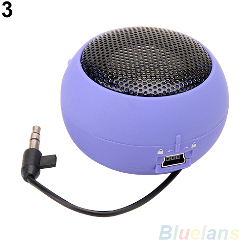 Mini Portable Hamburger Speaker Amplifier For iPod iPad Laptop iPhone Tablet PC 2JKY(China (Mainland))