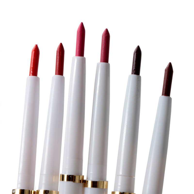 1PS Natural Brand Automatic Rotary Lip Liner Long-lasting Makeup Sexy Products Lipliner Lady Waterproof Beauty Red Lip Pencil(China (Mainland))