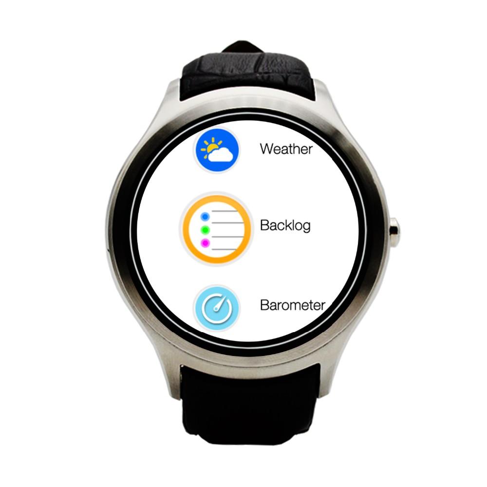 Роскошные Bluetooth Смарт Часы Наручные Smartwatch Мужчины Наручные Часы Носимых Устройств для apple, IOS android 4.4 Телефон