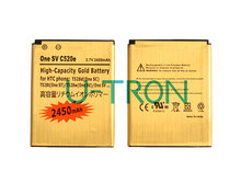 Buy 2pcs/lot 2450mAh BM60100 Gold Replacement Battery HTC One SV C520e Desire 500 T528d (One SC) T528t (One ST) T528w (One SU) for $10.35 in AliExpress store