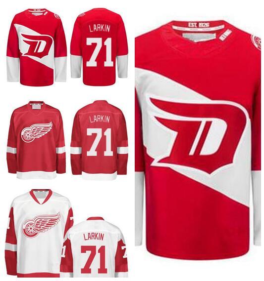 Гаджет  Detroit Red Wings 71 Dylan Larkin Stadium Series Jersey 2016 Men