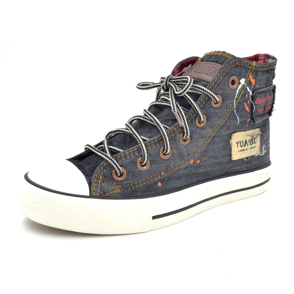 all match walking shoes high top canvas shoes non