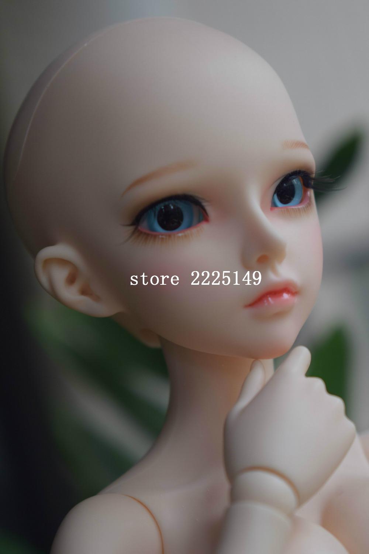 Free shipping 1/4 doll MiniFee mirwen BJD DOLL with eyes(China (Mainland))