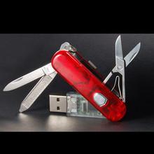 real capacitymemory stick metal u disk Multi-function Swiss army knife usb 2.0 flash 4GB/8GB/16GB/32GB usb flash drive gifts