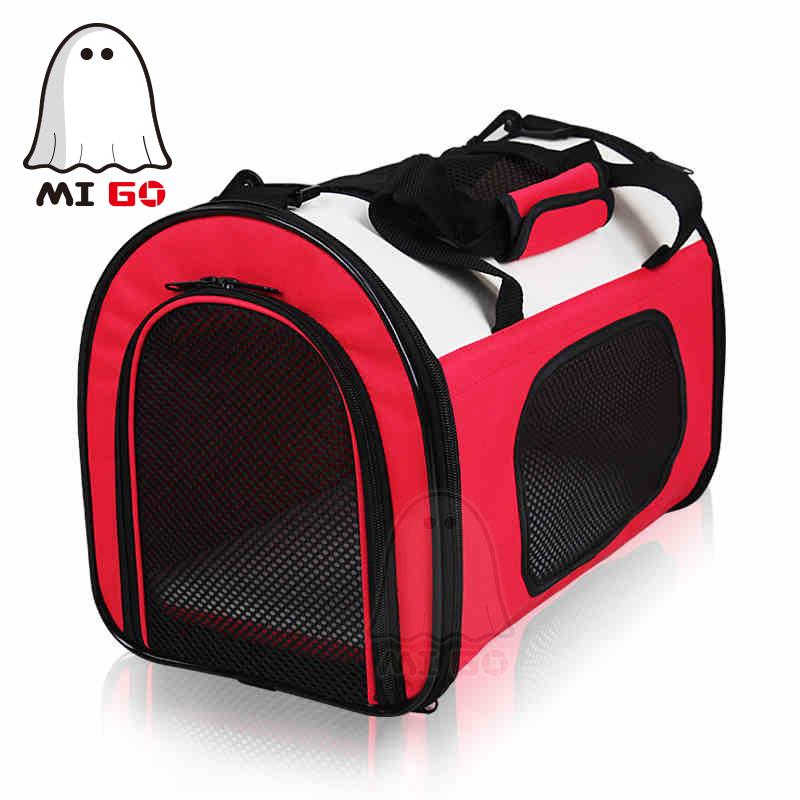 MIGO Pet Carrier Airline Approved Kennel Good Quality Portable pet carrier /cat bag/dog bag Tote Bag Handbag(China (Mainland))