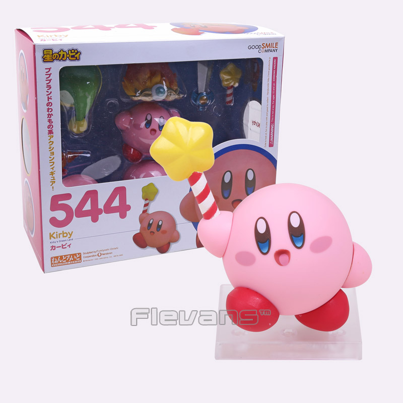 Cute Nendoroid Kirby #544 Kirby's Dream Land PVC Acton Figure Collectible Model Toy Doll(China (Mainland))