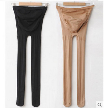 8219# maternity belly legging elastic strap adjust thin stocking autumn tights clothes for pregnant women pregnancy pantyhose