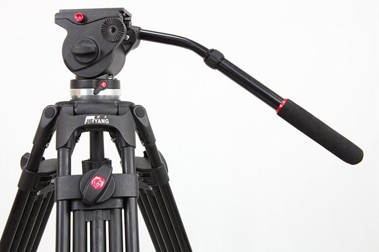 JIEYANG JY0508 JY-0508 8KG Professional Camera Tripod Video Tripod/Dslr VIDEO Tripod Fluid Head Damping for video(China (Mainland))