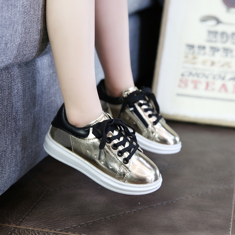 2016 Spring new style Children s fashion sports font b shoes b font Girls child Light