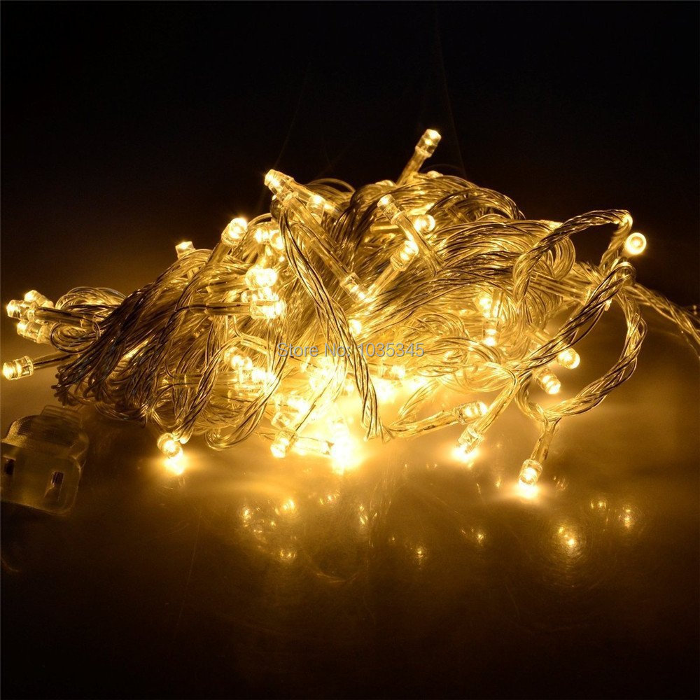 Waterproof IP65 Outdoor 20M 200 LED 8 Modes Fairy String Light Wedding Christmas Party Holiday Decoration  -  SUNWAY OPTOELECTRONIC CO., LTD store