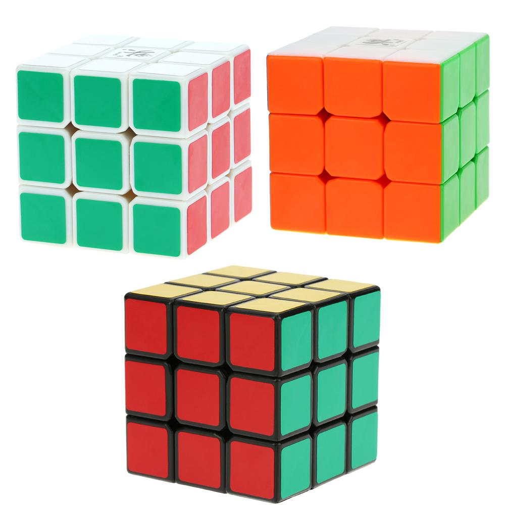 Popular Kids Toy Magic Cubes Dayan Guhong I 3 * 3 Magic Cube Speed Cubo Professional Eco-friendly Plastics Magic Cube Puzzle(China (Mainland))