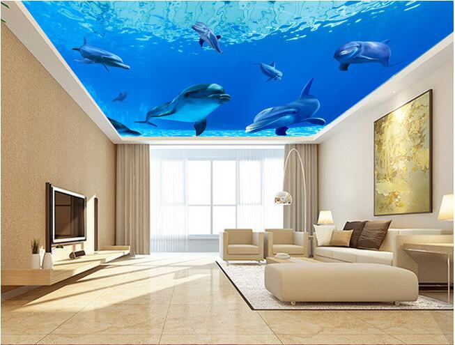 3d wallpaper custom mural non woven 3d room wallpaper wall for Images of 3d wallpaper for bedroom