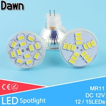 Buy MR11 Led Spotlight DC 12V 3W 5W 5730 SMD LED Lamp Bulb Energy Saving Led Spot Light Bulb LAMPADA Cool White White Warm White GU4 for $1.35 in AliExpress store