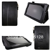 """50pcs x For Asus Memo Pad ME172V 7.0"""" Lichee Grain Leather Case, with Stand Function(Hong Kong)"""