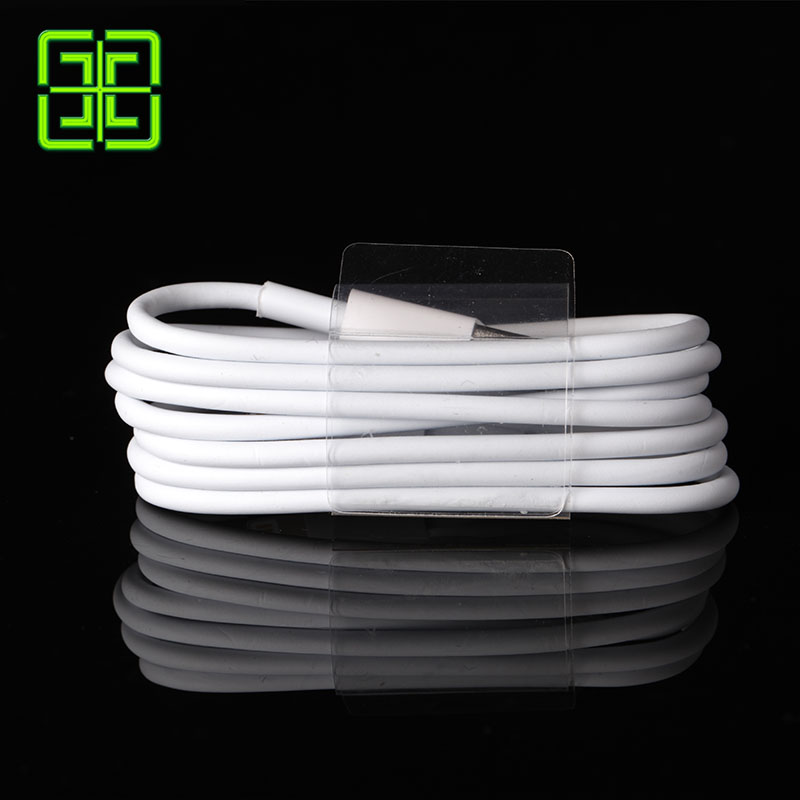 GAEY Update 2016 Latest White Wire 8pin USB Date Sync Charging Charger Cable for iPhone 5 6 plus for iPad for ios 8 9 1M 2M 3M(China (Mainland))