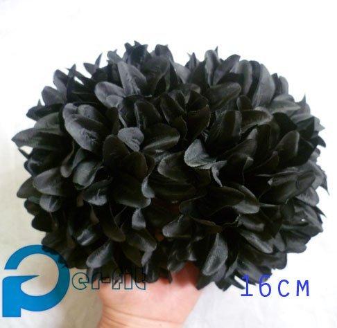 hijab flower clip khaleeji clip silk hair claw flower khaleeji volumizer 16cm hair flower ornaments 20pcs/lot