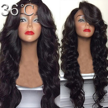 Glueless Full Lace Wig Brazilian Deep Body Wave Full Lace Human Hair Wigs For Black Women Best Lace Front Wig With Baby Hair(China (Mainland))